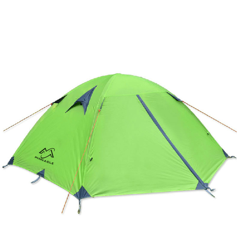 Barracas De Camping Tent Waterproof Anti-uv High Quality Folding Tente For Hiking Climbing Picnic Travel Tenda Double Layer Tipi high quality outdoor 2 person camping tent double layer aluminum rod ultralight tent with snow skirt oneroad windsnow 2 plus