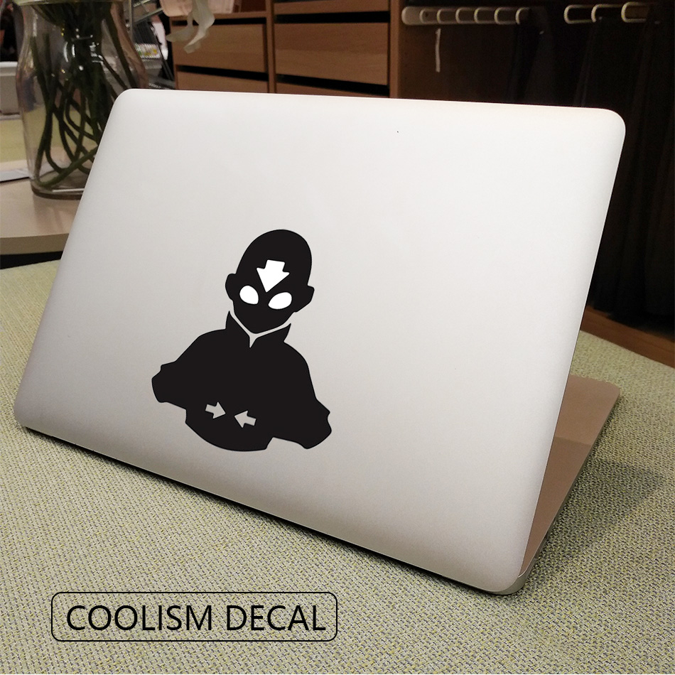 The last airbender avatar anime computer laptop decal sticker for macbook air pro retina 11 12 13 15 cover skin on notebook in laptop skins from
