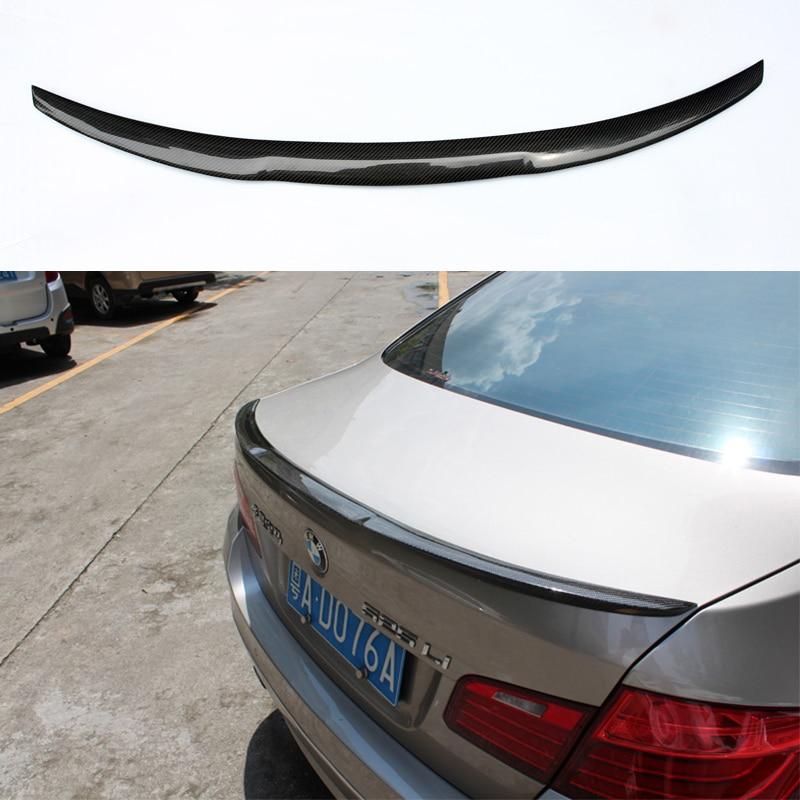 M4 Style F10 M5 Carbon Fiber Car Rear Body kit Trunk lip Spoiler Wing For BMW