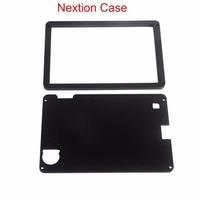 Preto Acrílico Caso para Nextion Nextion Reforçada 7.0 5.0 4.3 3.2 2.8 2.4 polegada HMI Módulo LCD Display Touch Screen FZ1719E-C