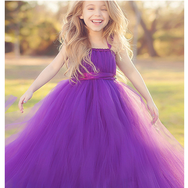 Kids Children Flower Girl Dresses Cap Sleeve Ball Gown with Bowknot for Wedding Party Pageant First Communion Custom Made