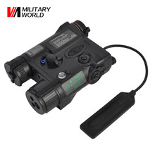 Airsoft Tactical Military Element AN PEQ 16A Shotgun Laser Pointer LED Gun Lasers Light Battery Case