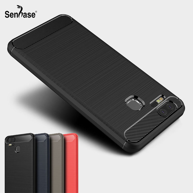 separation shoes 43dc2 432e9 For Asus Zenfone 3 Zoom ZE553KL Case Luxury Shockproof ultra thin Soft  Carbon Fiber Cover For Zenfone 3 Zoom ZE553KL Zoom S Case-in Fitted Cases  from ...