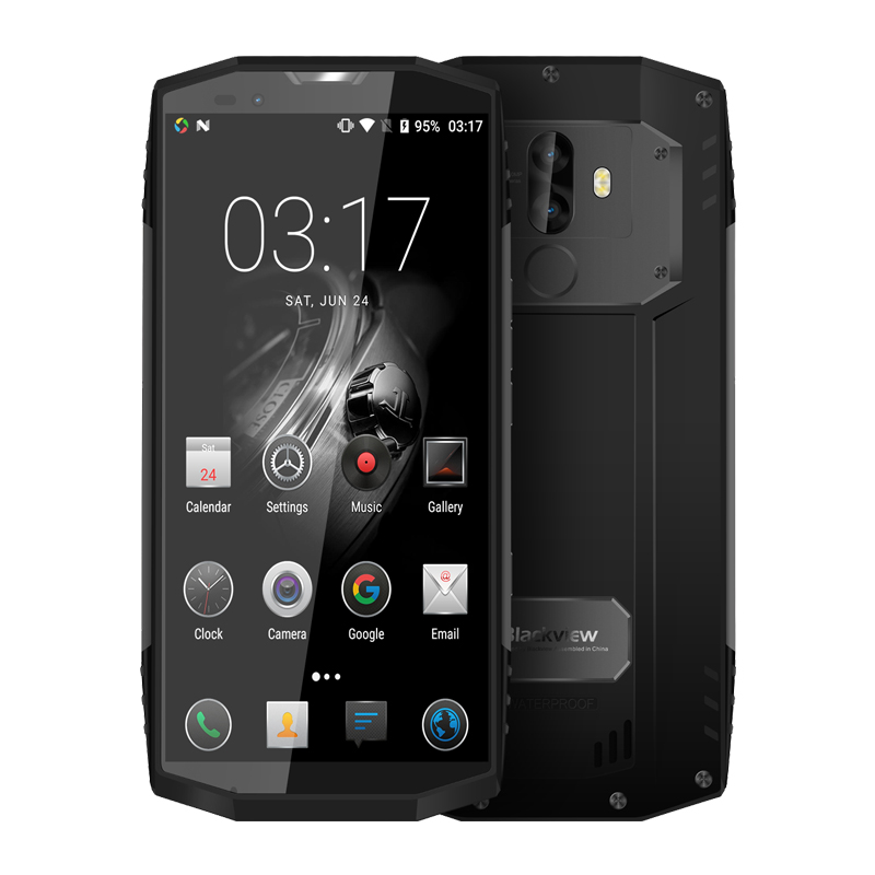 Image 2 - BLACKVIEW BV9000 PRO Mobile Phone IP68 Waterproof Tough Durable Smartphone 18:9 Android 7.1 Mobile Phone 6G+128G NFC CellPhone-in Cellphones from Cellphones & Telecommunications