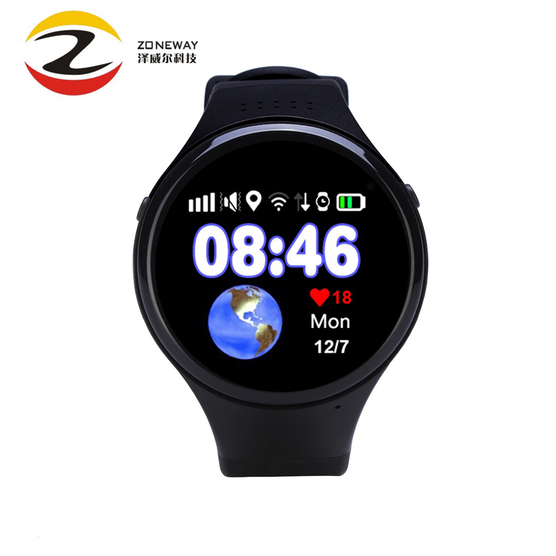 Super GPS tracking watch for Children old man T88 Smart watch SOS Emergency 1.22 touch screen Anti-lost WIFI LBS AGPS GPS watch gps smart watch q523 with wifi touch screen sos call location devicetracker kid safe anti lost monitor child gps watch pk q50 q8