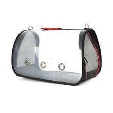 Прозрачная дорожная сумка для домашних животных портативная переноска для животных для кошек собак Питомник для домашних животных переноска для собак домашних животных сумка с наплечным ремнем