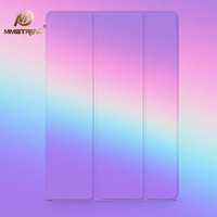 Mimiatrend New Rainbow Stand Design PU Leather Case For IPad 3 4 2 Smart Cover Smartcover