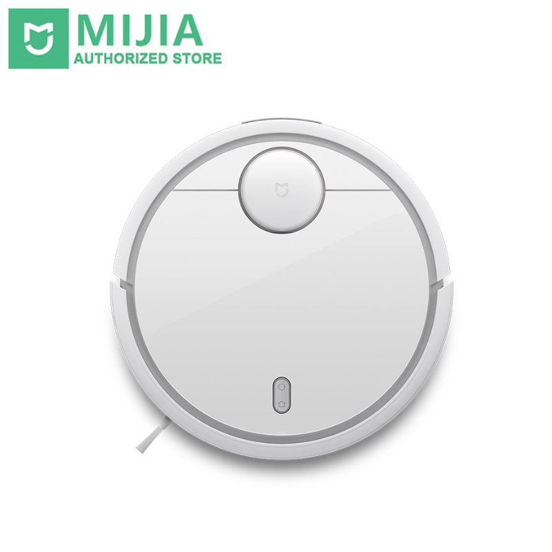 Xiaomi Cleaner for Home Mi Robot Automatic Sweeping Dust Sterilize Smart Planned Mobile App Remote Control купить