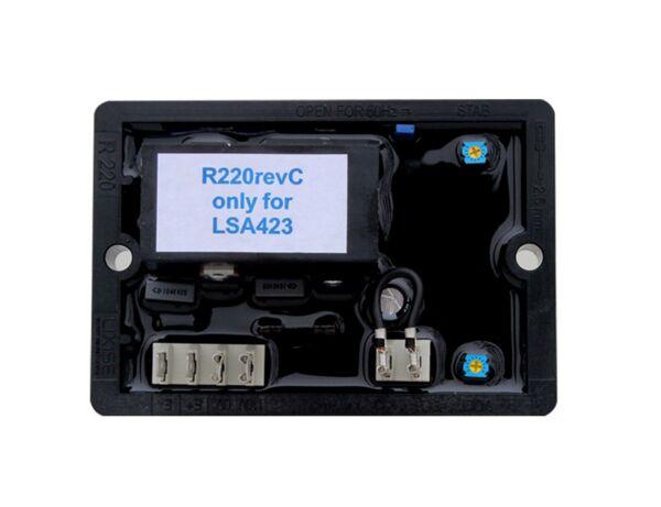 цена на LeroySomer Generator AVR R220 Leroy Somer brushless generator avr
