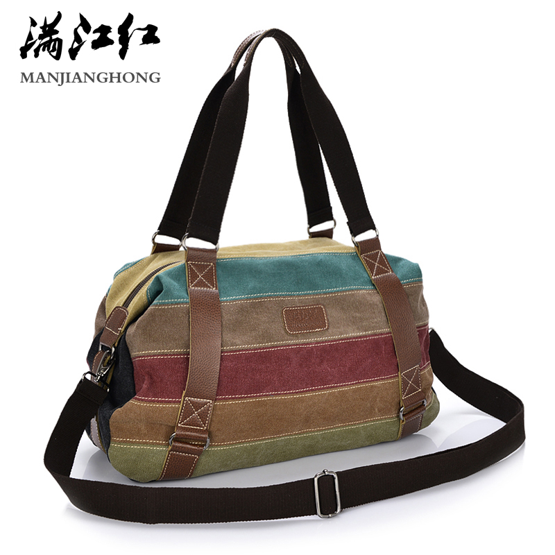 Fashion Patchwork Canvas Shoulder Bag Handbag Women Lady Colorful Messenger Crossbody Bags For Women Casual Tote Bag Female 1208 new 2018 classic patchwork flap crossbody bag for female women canvas