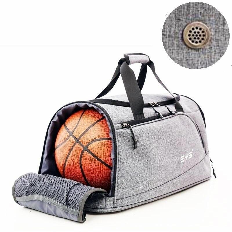 Nuevo estilo de los hombres bolsa de deporte de agua  azotea nylon al aire  libre Bolsas hombres Baloncesto entrenamiento crossbody bolso ligero  equipaje c14e03b92b04c