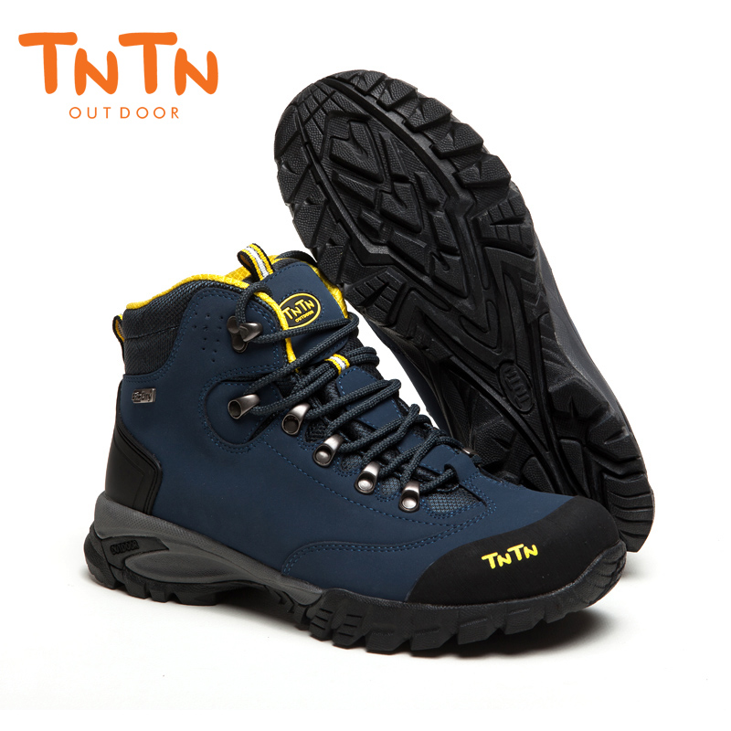 Hiking Shoes Waterproof Cowleather Trekking Climbing Trail Athletic Sports Mountain 100% High Quality Leisure Walking