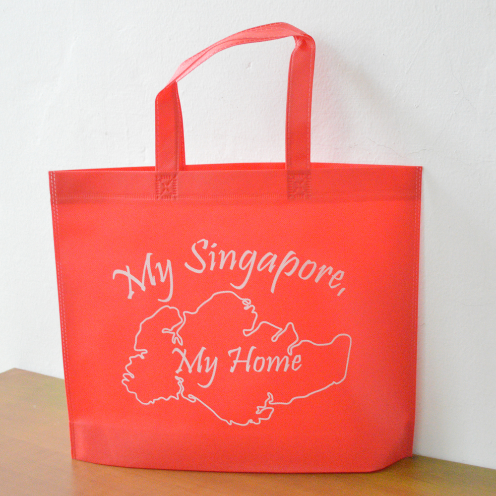 50% shipping cost discount custom made women  lady reusable tote bag red  shopping bag non woven home market with large capacity-in Gift Bags    Wrapping ... 7018a61cbe