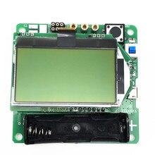 2017 Nueva versión 12864 LCD de Transistor Tester Diodo Triodo Capacitancia ESR Meter/MOS/PNP/NPN M328 Multifunción metros