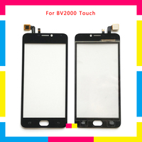 5Pcs/lot high quality Touch Screen Digitizer Sensor Outer Glass Lens Panel For Blackview BV2000 + Tracking code