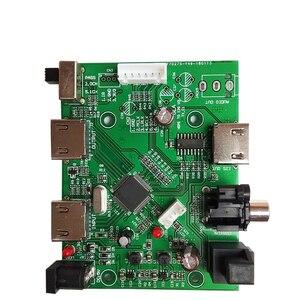 Image 5 - Lusya HDMI/MHL a IIS I2S scheda ricevitore HDMI IIS estratto separato Audio I2S/DSD/scheda interruttore convertitore ottico/coassiale T0731