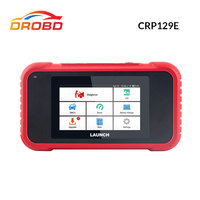 Launch X431 CRP129E OBD2 Code Reader Diagnostic Tool Engine ABS SRS AT Brake Oil SAS ETS TMPS Reset CRP129 E OBD CodeCreader
