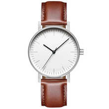Minimalist Swiss Movement Stock Stainless Steel Mesh Leather Watches Bracelet Quartz Fashion Luxury Brand Dress Watch 36mm