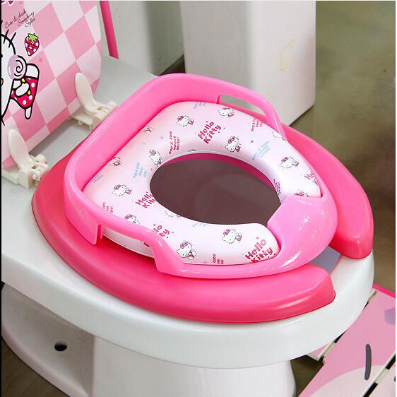Hello Kitty Mickey Minnie Car Princess Thomas Spiderman Toilet Soft - hello kitty potty