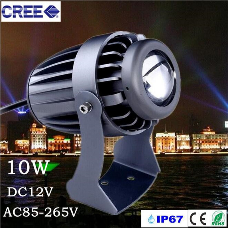 10w A Beam Of Light Led Spotlights Converging Beam The