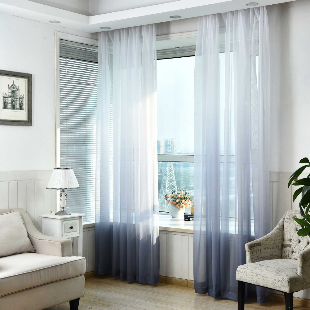 small voile curtains | Creativeadvertisingblog.com