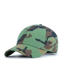 High Quality Outdoor Sports Camouflage Hat Men Baseball Cap Jungle Cotton Fashion Mens Green Camo Dad Hats  Adjustable цена