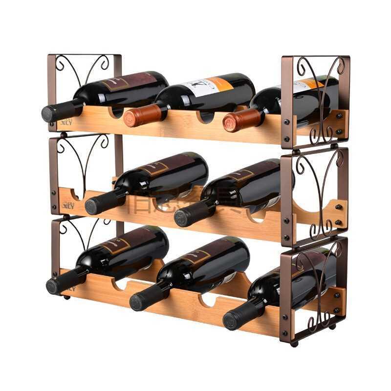 Us 1169 10 Offwijn Rekken Massief Houten Stapelen Wijnrekken Ornamenten Wijnrek Creatieve Wijn Kast Slinger Zonder Flessen Lu719411 In
