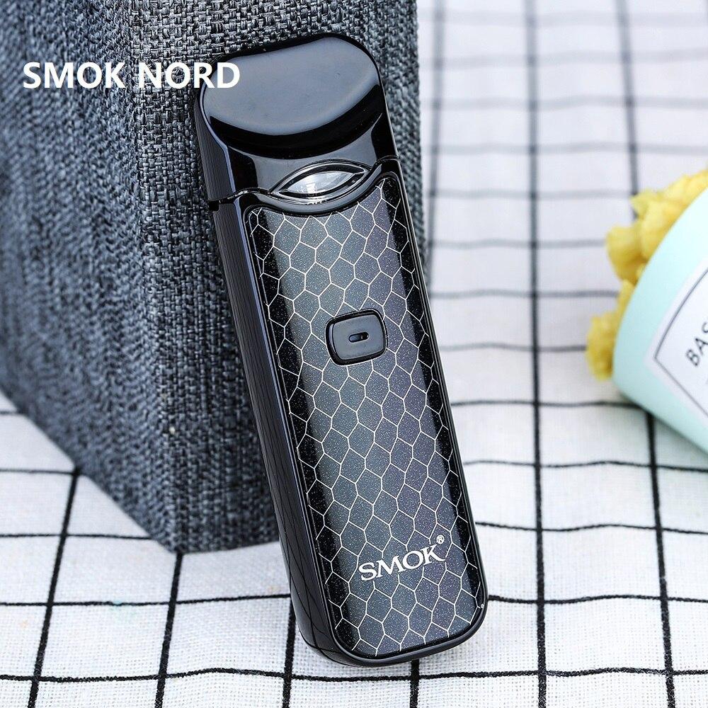 New Original Smok Nord Pod vape Kit with 1100mAh Battery 3ml Cartridge mesh coil Electronic Cigarette