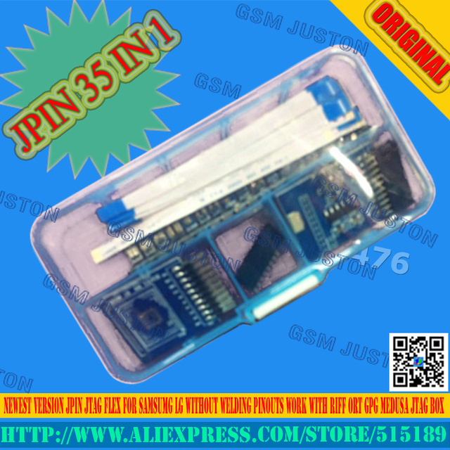 US $45 0  Jpin 35 in 1 for Samsumg LG huawei Without welding and pinout  work with RIFF BOX MEDUSA OCTOPUS JTAG BOX-in Mobile Phone Adapters from