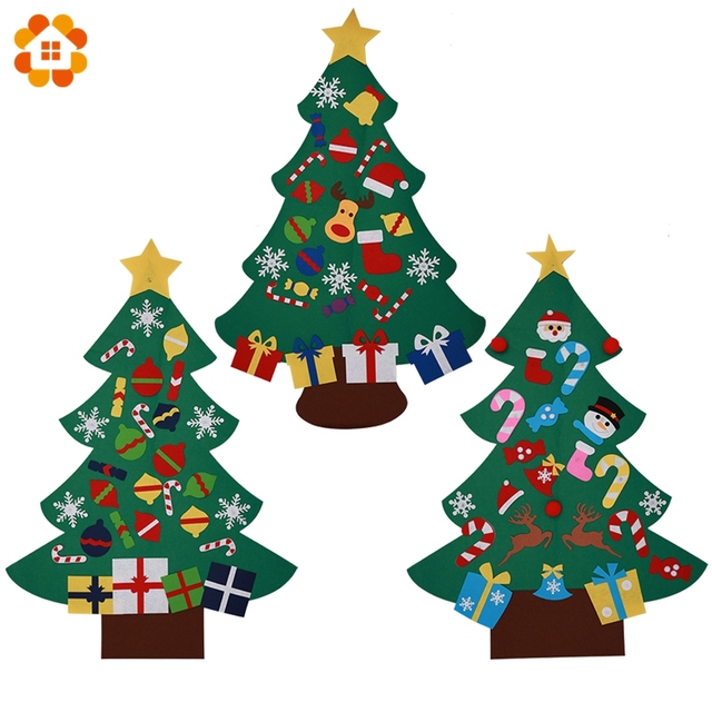 1pc diy large christmas tree artificial christmas tree handmade decorative tree home decor christmas party decorations