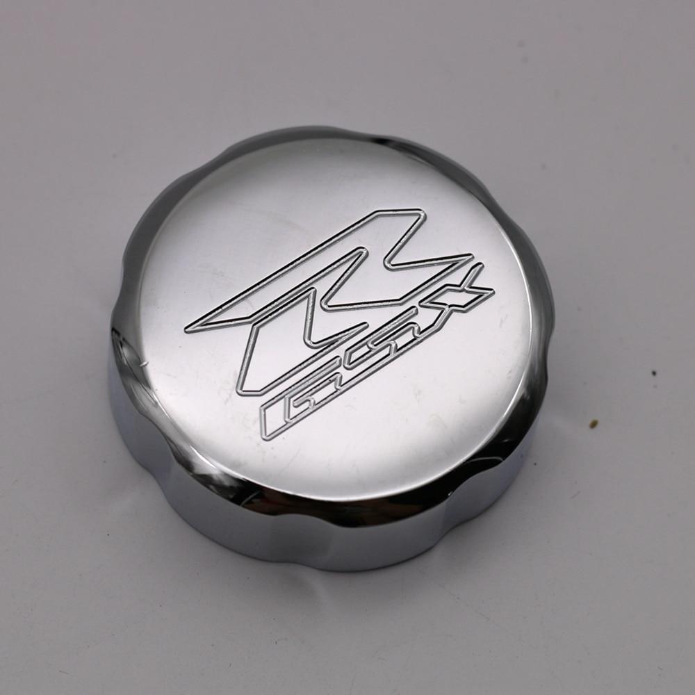 For Suzuki GSXR 1000 GSXR1000 2001-2008 / GSXR600 GSXR750 Front Billet Brake Master Cylinder Fluid Reservoir Cover Oil Cap meziere wp101b sbc billet elec w p