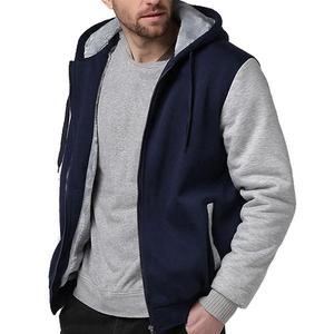 Image 3 - Tamanho grande jaqueta masculina tamanho grande 7xl 8xl 9xl 10xl com capuz outono e inverno manga longa zíper espessamento velo quente preto gra