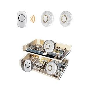 EU switch wireless remote control doorbell switch door bell ring 433.92mhz rf wireless remote alarm system IOS alarm smart home