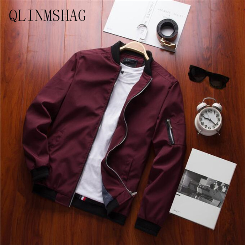 QLINMSHAG Spring New Males's Bomber Zipper Jacket Male Informal Streetwear Hip Hop Slim Match Pilot Coat Males Clothes Plus Dimension 4XL Jackets, Low-cost Jackets, QLINMSHAG Spring New Males's Bomber...
