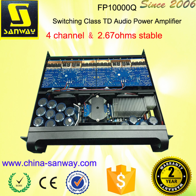 FP10000Q 4 Channel Professional Audio and Power Amplifier