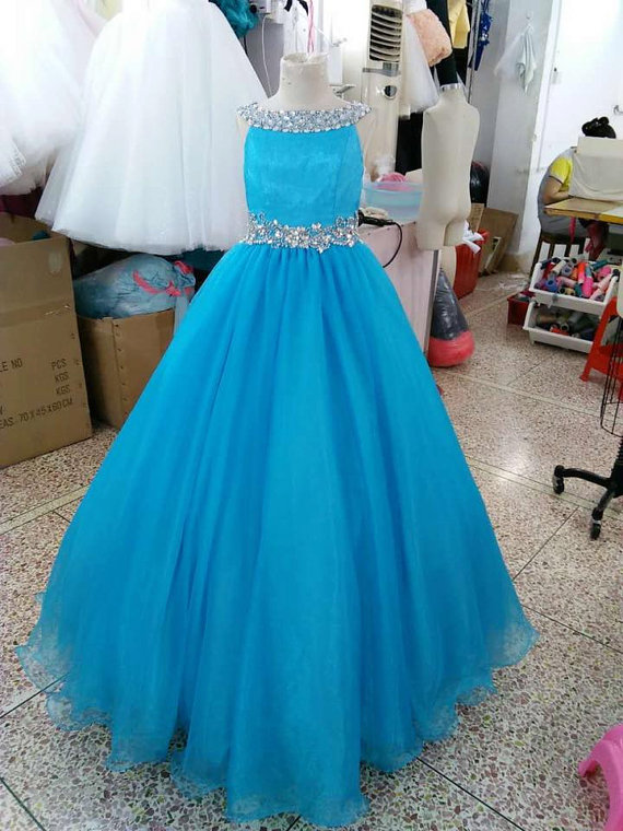 Cloud Little Flower Girls Dresses For Weddings Baby Party -4925