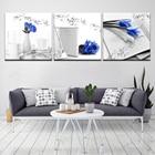 ★  5 Панель холст для рисования книги с розой HD Печать Современного Искусства Wall Art Painting Рестор ✔