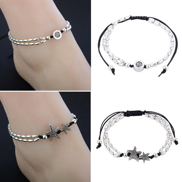 Bracelet de cheville Tendance étoile de mer 4