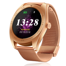 New K89 Smart Watch 1.22inch IPS Round Screen, Heart Rate Monitor, Bluetooth for iOS & Android Smartphones