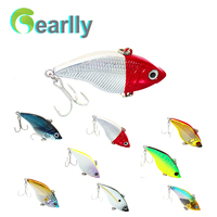 8pcs/lot 14.5g/5cm 3D eyes Long Casting Length Hard fishing lure fish bait lake river sea saltwater fishing pesca