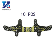 10Pcs New MINI 4WD J CUP 2019 Rear Roller Stay 1.5mm Carbon Fiber Plate 95122 Spare Parts For Tamiya Mini 4WD Racing Car Model