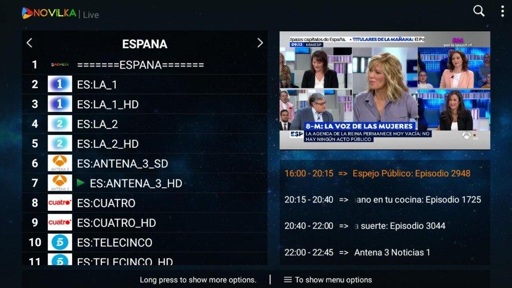 Best Stable IPTV Spain M3U Live IPTV Portugal 1 Year IPTV Subscription Free  VOD for Enigma2 Android Box M3U Smart TV