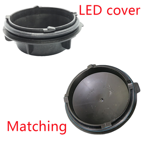 Image 4 - 1 Pc Led Extended Dust Cover Pvc Hard Material Car Hid Shell  Waterproof Caps Overhaul Plug for Buick Regal 2011 S00012147