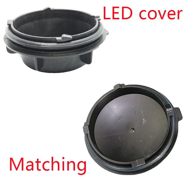 Image 4 - 1 piece led dust cover pvc hard material car hid cover Waterproof cover Overhaul cover for SUPERB S00012147-in Car Light Accessories from Automobiles & Motorcycles