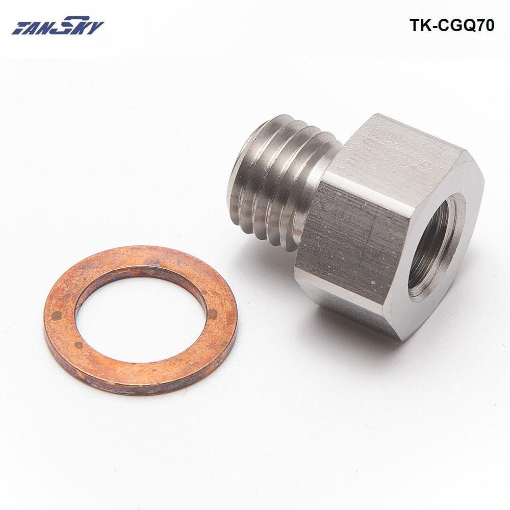 Fitting Adapter NPT 1/8 Female To Metric M12X1.5 Male Replace Auto/car meter TK-CGQ70 turbosky tk 8