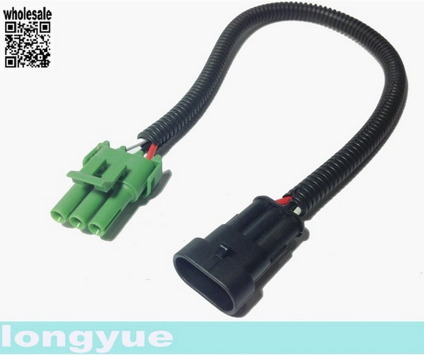 longyue 10pcs LS1 LS6 to LS2 L76 MAP Sensor Extension Adapter Wiring Harness 30cm wire aliexpress com buy longyue 10pcs ls1 ls6 to ls2 l76 map sensor ls6 wiring harness at aneh.co