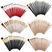 Professional 120pcs 6sets Cosmetics Facail Foundation Makeup Brushes Eye Lip Blending Eyeliner Eyeshadow Beauty Pencil Tools