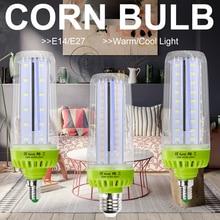 E27 Corn Bulb LED Lamp 10W Light E14 110V Lamp LED Bulb 20W 15W Lampada LED Light 220V No Flicker Energy Saving Lighting 5736SMD