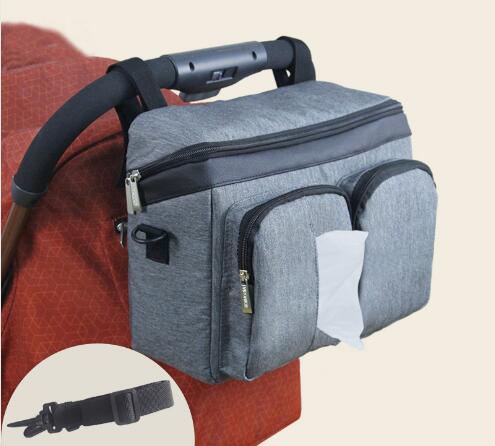 FashionStroller Organizeer Baby Bag Large For Moms Maternity Nappy Bag Travel Hanging Carriage Pram Buggy Cart Bottle Diaper Bag