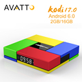 [Подлинная] T95K pro 2 ГБ/16 ГБ S912 Amlogic Android 6.0 Smart TV Box окта-ядерный Коди 17.0 Полностью нагрузки, WI-FI, BT4.0, 4 К, H.265 Set Top Box
